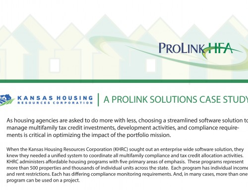 Kansas Housing Resource Corporation Case Study