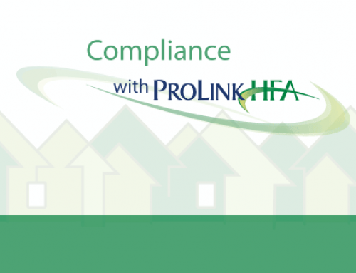 Compliance with ProLinkHFA